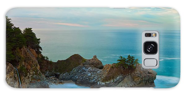 Mcway Falls At Sunrise Galaxy Case