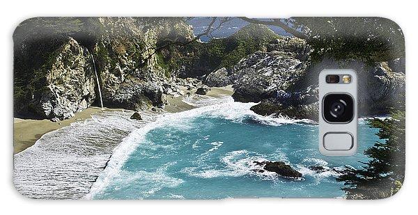 Mcway Falls - Big Sur Galaxy Case