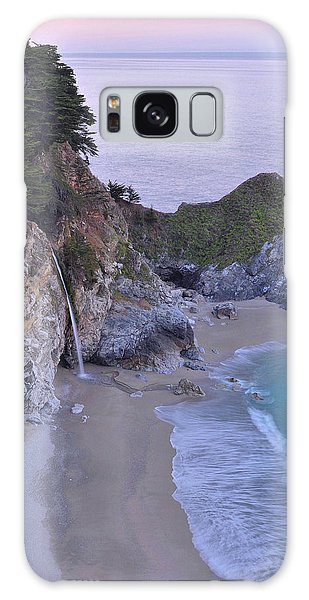 Mcway Falls At Dawn - Big Sur Galaxy Case