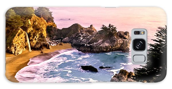 Mcway Falls Pacific Coast Galaxy Case