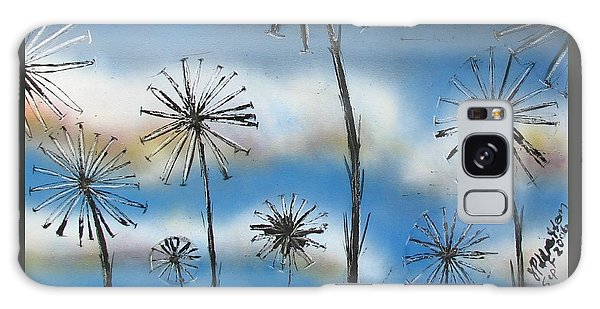 Meadow At Dawn Galaxy Case