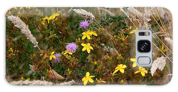 Meadow Bouquet Galaxy Case by Erica Hanel