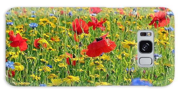 Meadow Flora Galaxy Case