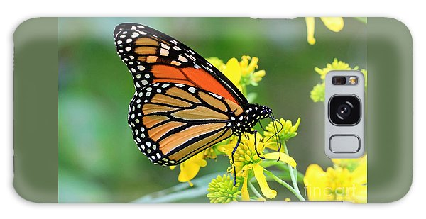 Meadow Monarch Galaxy Case