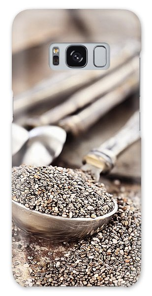 Measuring Spoon Of Chia Seeds Galaxy Case