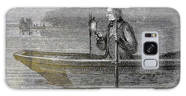 Lake Geneva Galaxy Case - Measuring The Velocity Of Sound In Water by Universal History Archive/uig