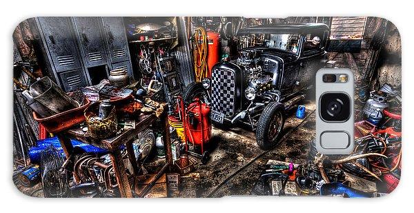 Mechanics Garage Galaxy Case