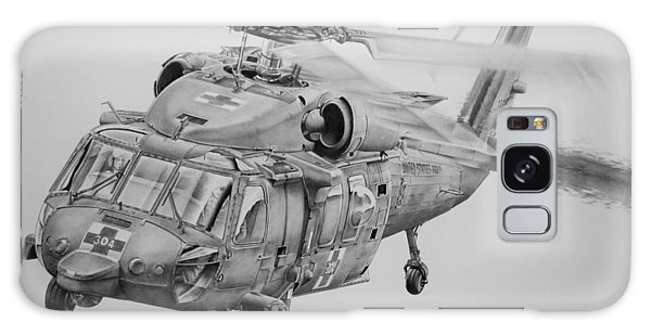 Helicopter Galaxy S8 Case - Medevac by James Baldwin Aviation Art