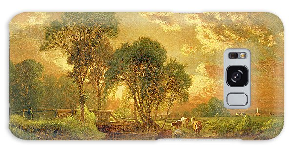Rural Scenes Galaxy S8 Case - Medfield Massachusetts by Inness