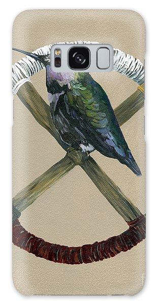 Hummingbird Galaxy S8 Case - Medicine Wheel by J W Baker