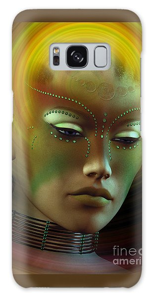Medicine Woman B Galaxy Case