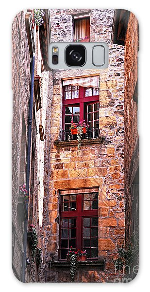 Stone Wall Galaxy Case - Medieval Architecture by Elena Elisseeva