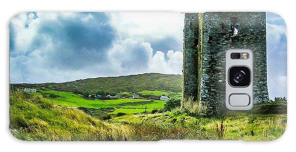 Medieval Dunmanus Castle On Ireland's Mizen Peninsula Galaxy Case