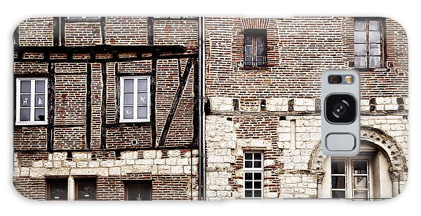 Brick House Galaxy Case - Medieval Houses In Albi France by Elena Elisseeva