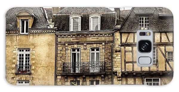 Town Galaxy Case - Medieval Houses In Vannes by Elena Elisseeva
