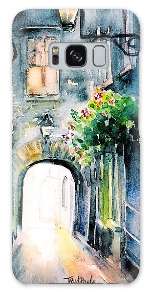 The Butter Slip  Medieval Street Kilkenny I Galaxy Case