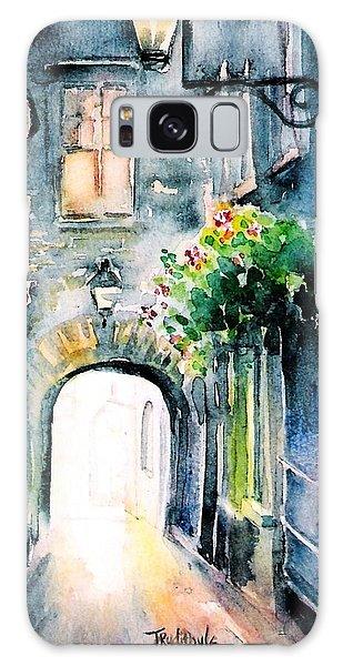 The Butter Slip  Medieval Street Kilkenny I Galaxy Case by Trudi Doyle