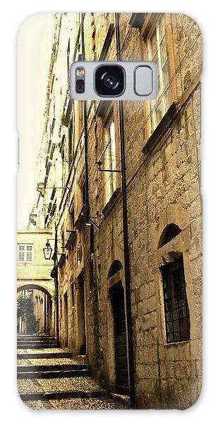 Medieval Street Galaxy Case