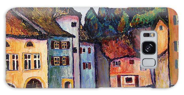 Medieval Village Of St. Ursanne Switzerland Galaxy Case