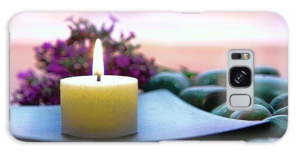 Meditation Candle Galaxy Case