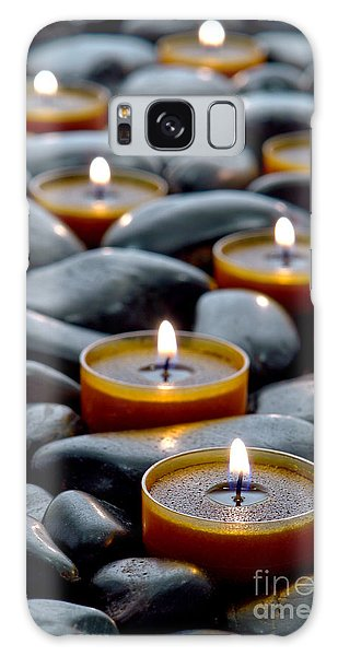 Meditation Candles Galaxy Case