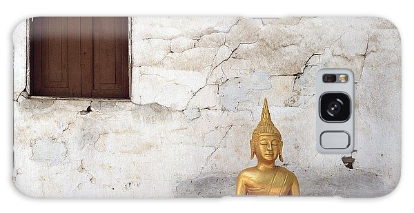 Meditation In Laos Galaxy Case