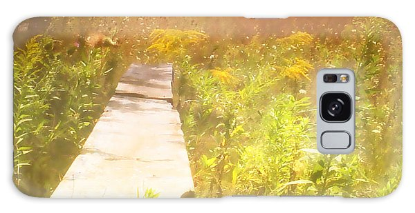 Meditation In Sunlight 1 Galaxy Case by The Art of Marsha Charlebois