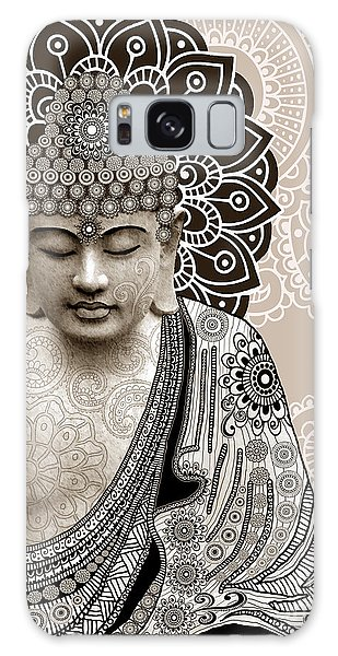 Meditation Mehndi - Paisley Buddha Artwork - Copyrighted Galaxy Case