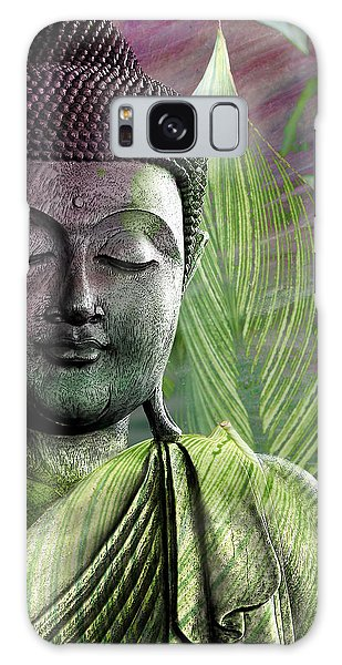 Meditation Vegetation Galaxy Case