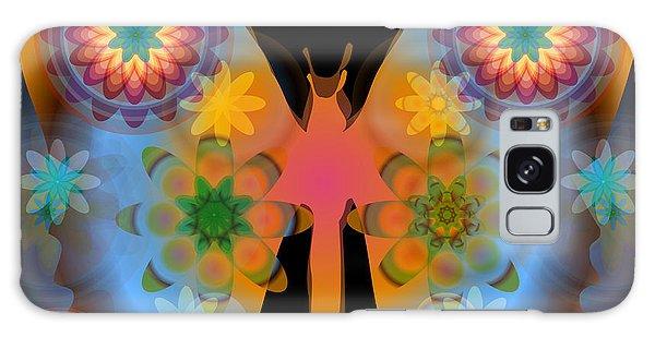 Meditative Butterfly Galaxy Case