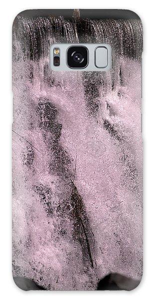 Otter Galaxy Case - Meditative Otter Lake Waterfall  by Betsy Knapp