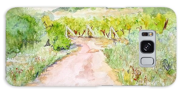 Medjugorje Path To Apparition Hill Galaxy Case