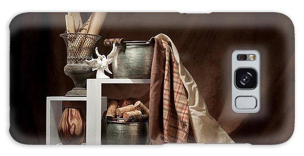 Dove Galaxy S8 Case - Medley Of Textures Still Life by Tom Mc Nemar