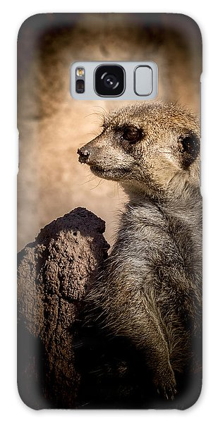 Meerkat 12 Galaxy Case by Ernie Echols