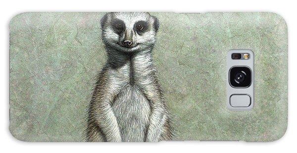Meerkat Galaxy S8 Case - Meerkat by James W Johnson