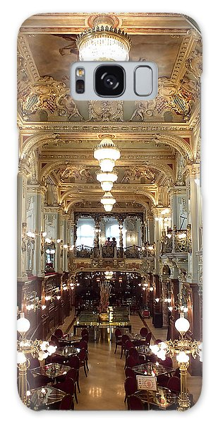 Meet Me For Coffee - New York Cafe - Budapest Galaxy Case