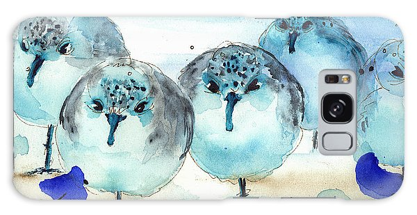 Meet The Sanderlings Galaxy Case by Dawn Derman