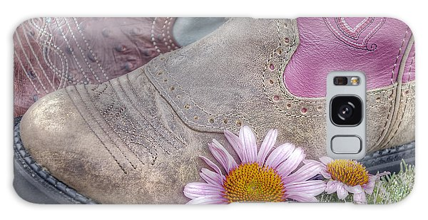 Galaxy Case featuring the photograph Megaboots by Joan Carroll
