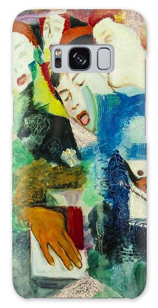 Melange Galaxy Case by Ron Richard Baviello