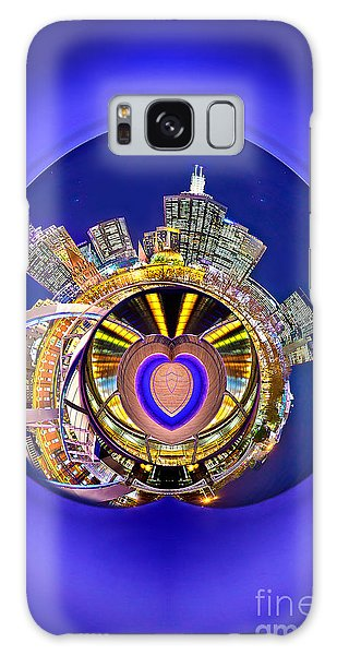 Victoria Galaxy Case - Love Melbourne 2 by Az Jackson