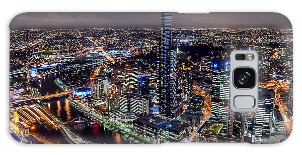 Melbourne At Night IIi Galaxy Case