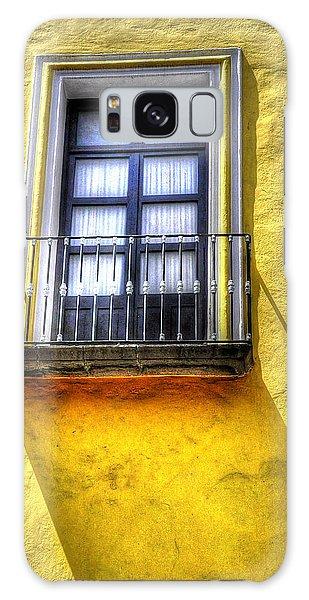 Mellow Yellow Window Galaxy Case