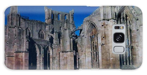 Melrose Abbey  Scotland Galaxy Case