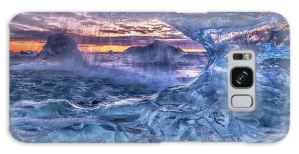 Environments Galaxy Case - Melting Blue Crystal by Peter Svoboda, Mqep