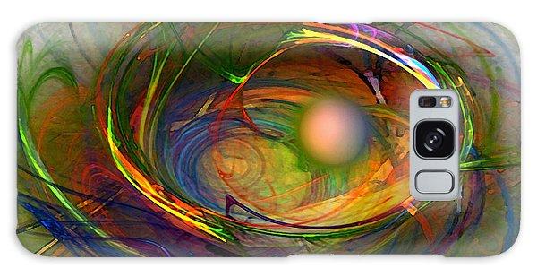 Melting Pot-abstract Art Galaxy Case