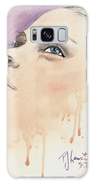 Melting Youthful Beauty Galaxy Case