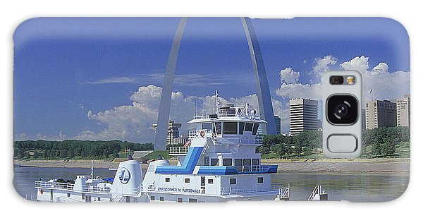 Memco Towboat In St Louis Galaxy Case