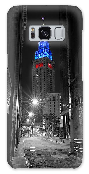 Memorial Day Terminal Tower In Cleveland Galaxy Case