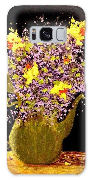 Memories Of A Spring.. Galaxy Case by Cristina Mihailescu