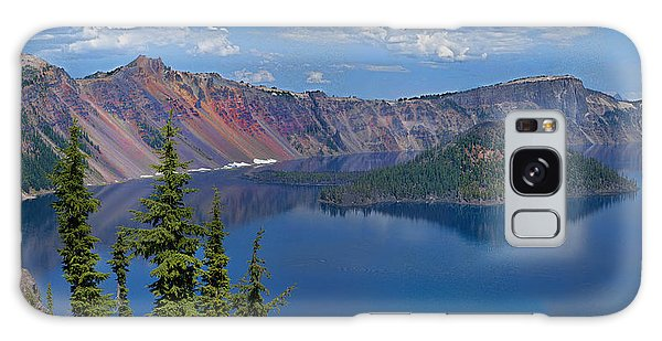 Memories Of Crater Lake Galaxy Case by Daniel Hebard